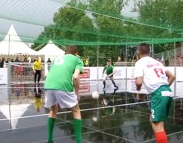 27 май, 2017, Нова Спорт, Темата на спорта: Европейски стрийт футбол фестивал в София