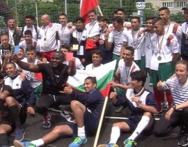 28 май, 2017, Канал 3: България с бронз на Европейския шампионат по стрийт футбол