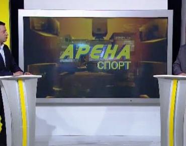 """24 май, 2017, БНТ HD, """"Арена спорт"""": Интервю с Виктор Кирков"""