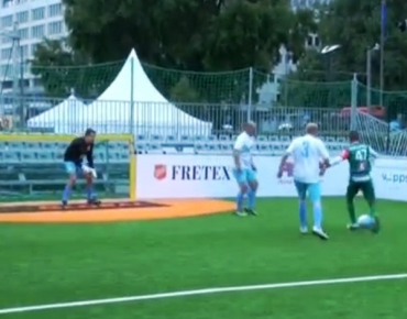 August 31, 2017, BNT 1, Sport News, 20:45: Bulgaria finished second in Preliminary Group A of the Homeless World Cup