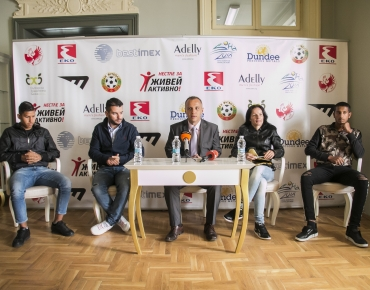 "BTV, ""Paparazzi"", September 30, 2018: Ivan Hristov and former boxing world champion Galina Ivanova became ambassadors of the ""Team of Hope"" for 2018"