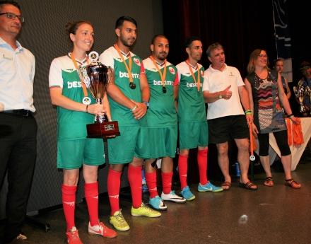 България завърши на второ място  на европейското по стрийт футбол