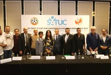 България играе с Либерия и Ирак на Световна купа по футбол SATUC