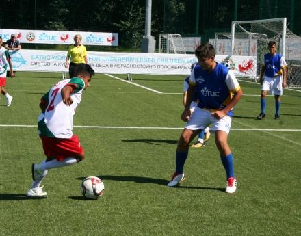 България се класира за полуфиналите на Световната купа по футбол SATUC