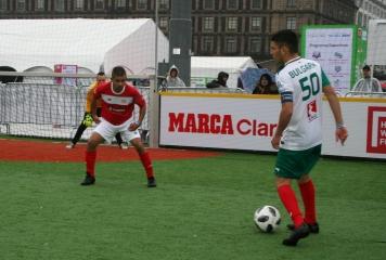 България започва срещу Полша в Топ 24 на Homeless World Cup