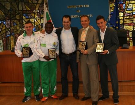 """Министерството на младежта и спорта награди """"Отбор на надеждата"""""""