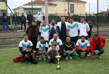 """""""Рома М"""" е големият победител във футболния турнир в кв. """"Факултета"""""""