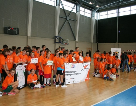 Move Week в София завърши с Мини европейско първенство по волейбол