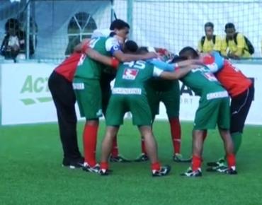 1 септември, 2017, БНТ1, Спортна емисия, 20:45: Репортаж за представянето на България на Световното първенство по футбол за бездомни хора