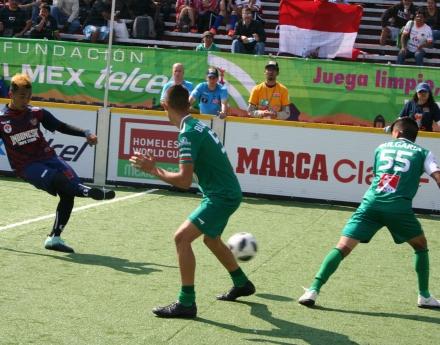 България попадна сред дванадесетте най-добри отбора на Homeless World Cup