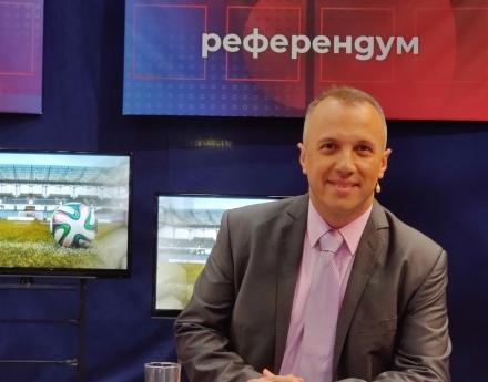 """Виктор Кирков в """"Референдум"""", БНТ1: Проблемите във футбола и в държавата са идентични"""