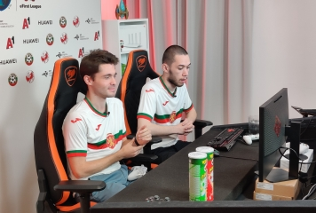 България спечели 10 точки в първия ден от квалификациите за FIFAe Nations Series