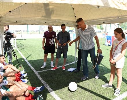 Посланикът на надеждата Радостин Стойчев откри Sports Management Bulgaria Cup