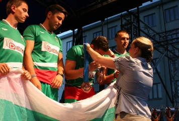 България отново взе бронза на европейското по стрийт футбол